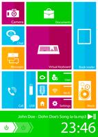 Square user interface 60016012988| 写真素材・ストックフォト・画像・イラスト素材|アマナイメージズ