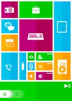 Square user interface 60016012995| 写真素材・ストックフォト・画像・イラスト素材|アマナイメージズ