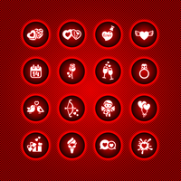 Set valentine's day icons, vector signs 60016013146| 写真素材・ストックフォト・画像・イラスト素材|アマナイメージズ