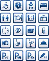 Symbols hotel services. Signs set motel services 60016013163| 写真素材・ストックフォト・画像・イラスト素材|アマナイメージズ