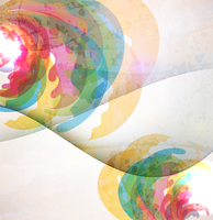 Abstract Invitation vintage floral background. 60016015031| 写真素材・ストックフォト・画像・イラスト素材|アマナイメージズ