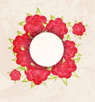 Abstract Invitation vintage floral background. 60016015166| 写真素材・ストックフォト・画像・イラスト素材|アマナイメージズ