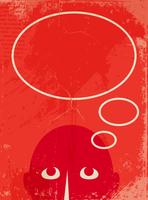 man with a empty speech bubble 60016015293| 写真素材・ストックフォト・画像・イラスト素材|アマナイメージズ