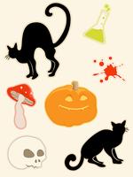 Halloween icons set 60016015719| 写真素材・ストックフォト・画像・イラスト素材|アマナイメージズ