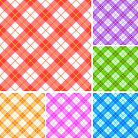 Seamless plaid patterns 60016016106| 写真素材・ストックフォト・画像・イラスト素材|アマナイメージズ