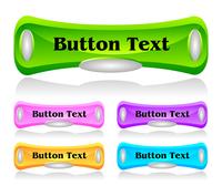 Set of shiny plastic web menu buttons 60016016540| 写真素材・ストックフォト・画像・イラスト素材|アマナイメージズ