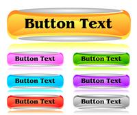 Set of shiny web menu buttons 60016016546| 写真素材・ストックフォト・画像・イラスト素材|アマナイメージズ
