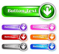 Set of shiny web menu buttons 60016016548| 写真素材・ストックフォト・画像・イラスト素材|アマナイメージズ