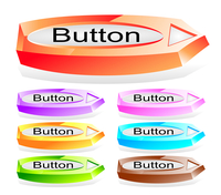 Set of shiny web menu buttons 60016016551| 写真素材・ストックフォト・画像・イラスト素材|アマナイメージズ