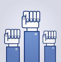 Fist. Symbol of revolution