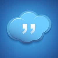 Cloud computing concept sign. Blue sky. 60016017219| 写真素材・ストックフォト・画像・イラスト素材|アマナイメージズ