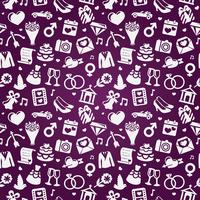 wedding seamless pattern - pink vector background 60016017453| 写真素材・ストックフォト・画像・イラスト素材|アマナイメージズ