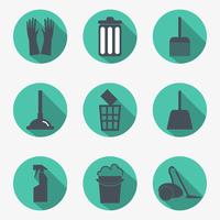 Cleaning icons 60016020665| 写真素材・ストックフォト・画像・イラスト素材|アマナイメージズ