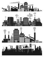 Factory5. Set of factories and factories. A vector illustration 60016022284| 写真素材・ストックフォト・画像・イラスト素材|アマナイメージズ