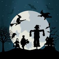 Halloween6. Illustration on a theme of holiday Halloween. A vector illustration 60016022531| 写真素材・ストックフォト・画像・イラスト素材|アマナイメージズ