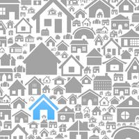 Background made of houses. A vector illustration 60016022732| 写真素材・ストックフォト・画像・イラスト素材|アマナイメージズ