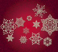 Abstract 3D Snowflakes Design 60016024000| 写真素材・ストックフォト・画像・イラスト素材|アマナイメージズ