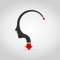 The arrow goes heads. A vector illustration 60016024611| 写真素材・ストックフォト・画像・イラスト素材|アマナイメージズ
