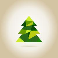 Green Christmas tree. A vector illustration 60016024635  写真素材・ストックフォト・画像・イラスト素材 アマナイメージズ