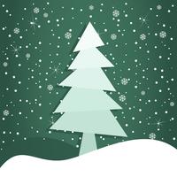 Celebratory tree3. Christmas tree on a green background. A vector illustration 60016025398| 写真素材・ストックフォト・画像・イラスト素材|アマナイメージズ