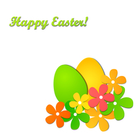Vector illustration Happy Easter background
