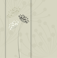 Flower vector background. Simple and clean design template. 60016026223| 写真素材・ストックフォト・画像・イラスト素材|アマナイメージズ