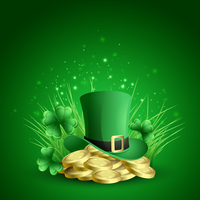 Vector illustration St. Patrick's background 60016026301| 写真素材・ストックフォト・画像・イラスト素材|アマナイメージズ