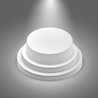 White empty illuminated stage podium vector illustration 60016027570| 写真素材・ストックフォト・画像・イラスト素材|アマナイメージズ