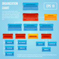 Organizational chart infographic business work hierarchy flowchart structure vector illustration 60016028866| 写真素材・ストックフォト・画像・イラスト素材|アマナイメージズ