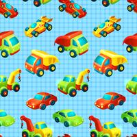 Toy transport decorative seamless pattern with truck racing car auto isolated vector illustration 60016028937| 写真素材・ストックフォト・画像・イラスト素材|アマナイメージズ