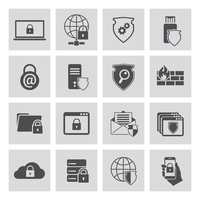 Information technology security pictograms collection of computer and online safety isolated vector illustration 60016029158| 写真素材・ストックフォト・画像・イラスト素材|アマナイメージズ