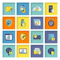 Information technology security flat icons set of cloud network connection firewall isolated vector illustration 60016029160| 写真素材・ストックフォト・画像・イラスト素材|アマナイメージズ