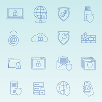 Information technology security icons set of wireless data transfer protection isolated vector illustration 60016029161| 写真素材・ストックフォト・画像・イラスト素材|アマナイメージズ