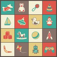 Flat kid children toys icons set of yacht spinner rubber duck clown isolated vector illustration 60016029220| 写真素材・ストックフォト・画像・イラスト素材|アマナイメージズ
