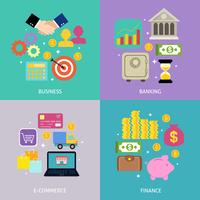 Business process concept of banking e-commerce shopping finance flat icons set vector illustration 60016029239| 写真素材・ストックフォト・画像・イラスト素材|アマナイメージズ