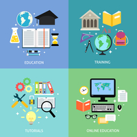Business education concept training tutorial reading discussion online flat icons set isolated vector illustration 60016029254| 写真素材・ストックフォト・画像・イラスト素材|アマナイメージズ