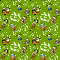 Kids cheerleading learning with school accessories background seamless doodle sketch pattern vector illustration 60016029428| 写真素材・ストックフォト・画像・イラスト素材|アマナイメージズ