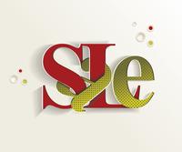 Hand-drawn sale lettering 60016029498| 写真素材・ストックフォト・画像・イラスト素材|アマナイメージズ