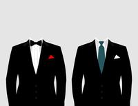 Suit of the businessman. A vector illustration 60016029571| 写真素材・ストックフォト・画像・イラスト素材|アマナイメージズ