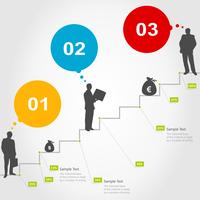 Business a ladder of successes. A vector illustration 60016029645| 写真素材・ストックフォト・画像・イラスト素材|アマナイメージズ