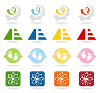 Collection of buttons7. Set of icons for web design. A vector illustration 60016029657| 写真素材・ストックフォト・画像・イラスト素材|アマナイメージズ
