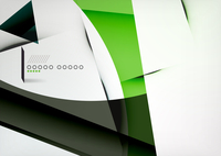 Arrow Geometric Shape Abstract Business Background. Graphic Design Template