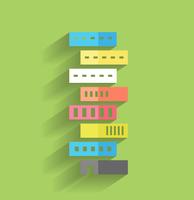 Vector skyscraper icon modern flat design 60016033332| 写真素材・ストックフォト・画像・イラスト素材|アマナイメージズ