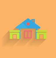 House icon vector modern flat design 60016033386| 写真素材・ストックフォト・画像・イラスト素材|アマナイメージズ