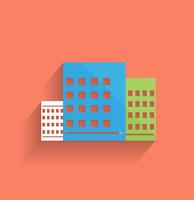 Vector skyscraper icon modern flat design 60016033550| 写真素材・ストックフォト・画像・イラスト素材|アマナイメージズ