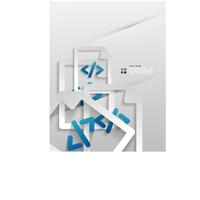 Vector file program modern 3d paper design