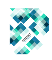 Square blue geometrical abstract background 60016033972| 写真素材・ストックフォト・画像・イラスト素材|アマナイメージズ