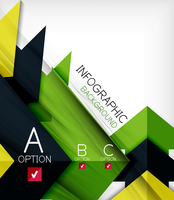 Infographic abstract background - arrow geometric shape. For business presentation | technology | web design 60016034881| 写真素材・ストックフォト・画像・イラスト素材|アマナイメージズ