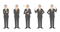 ビジネスマン 上司 表情バリエーション 60017000046| 写真素材・ストックフォト・画像・イラスト素材|アマナイメージズ