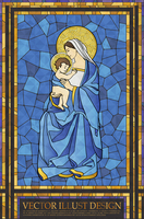 Christianity Stained Glass 60018000681| 写真素材・ストックフォト・画像・イラスト素材|アマナイメージズ